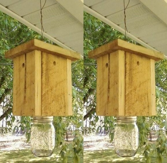 Pair 2 Of Carpenter Bee Traps Free Shipping Go By
