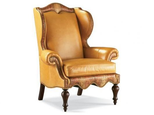 Leather Wing Chair Classics Whittemore Sherrill Available At
