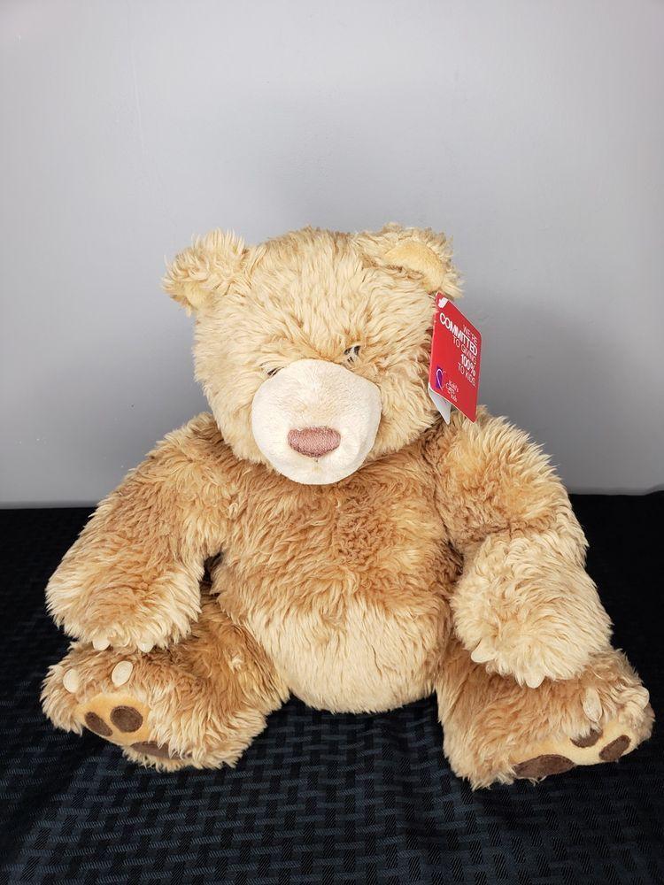 Details About Gund Plush Brown Teddy Bear Kohls Cares Kids 15