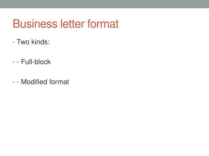ppt technical writing powerpoint presentation parts business - parts of a business letter