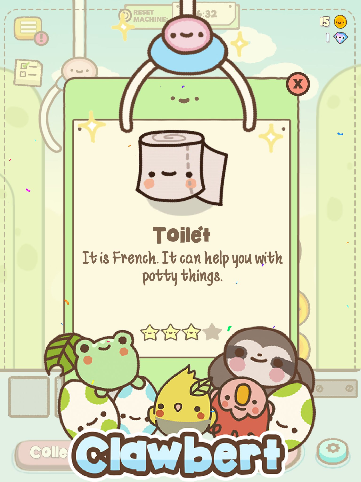 Look What I Found With Clawbertgame Clawbert