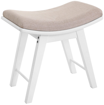 Check Songmics Vanity Stool Modern Makeup Dressing Stool With Concave Seat Surface Padded Bench With Rubberwood Legs Capacity In 2020 Vanity Stool Stool Stool Chair