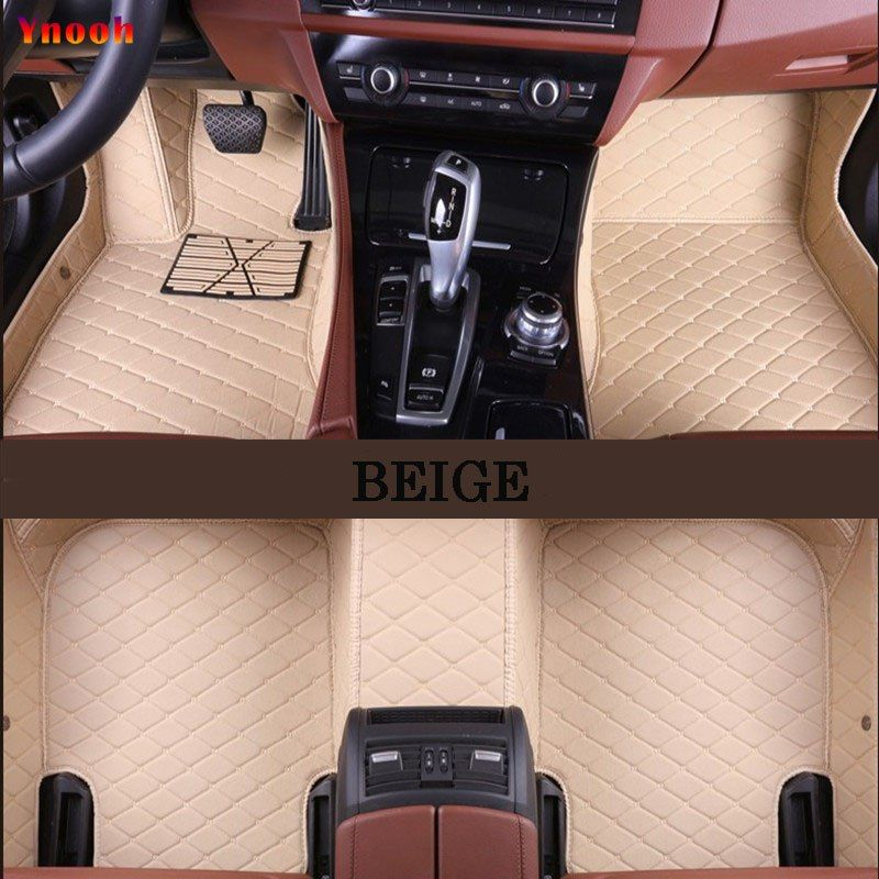 Ynooh Car Floor Mats For Ford Fusion 2008 Fiesta 2007 2009 Focus Mk3 S Max Kuga 2008 Mk7 Explorer Transit Custom Car Mat Mercedes W124 Mercedes Custom Car Mats