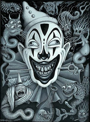 """BLACK CLOWN 