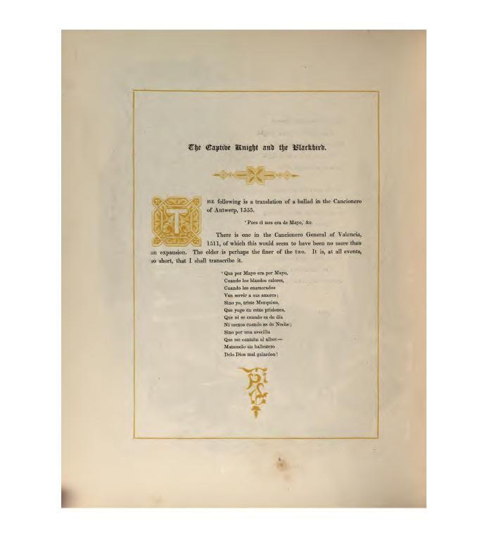(1841) - Ancient Spanish Ballads: Historical and Romantic - Author: John Gibson Lockhart