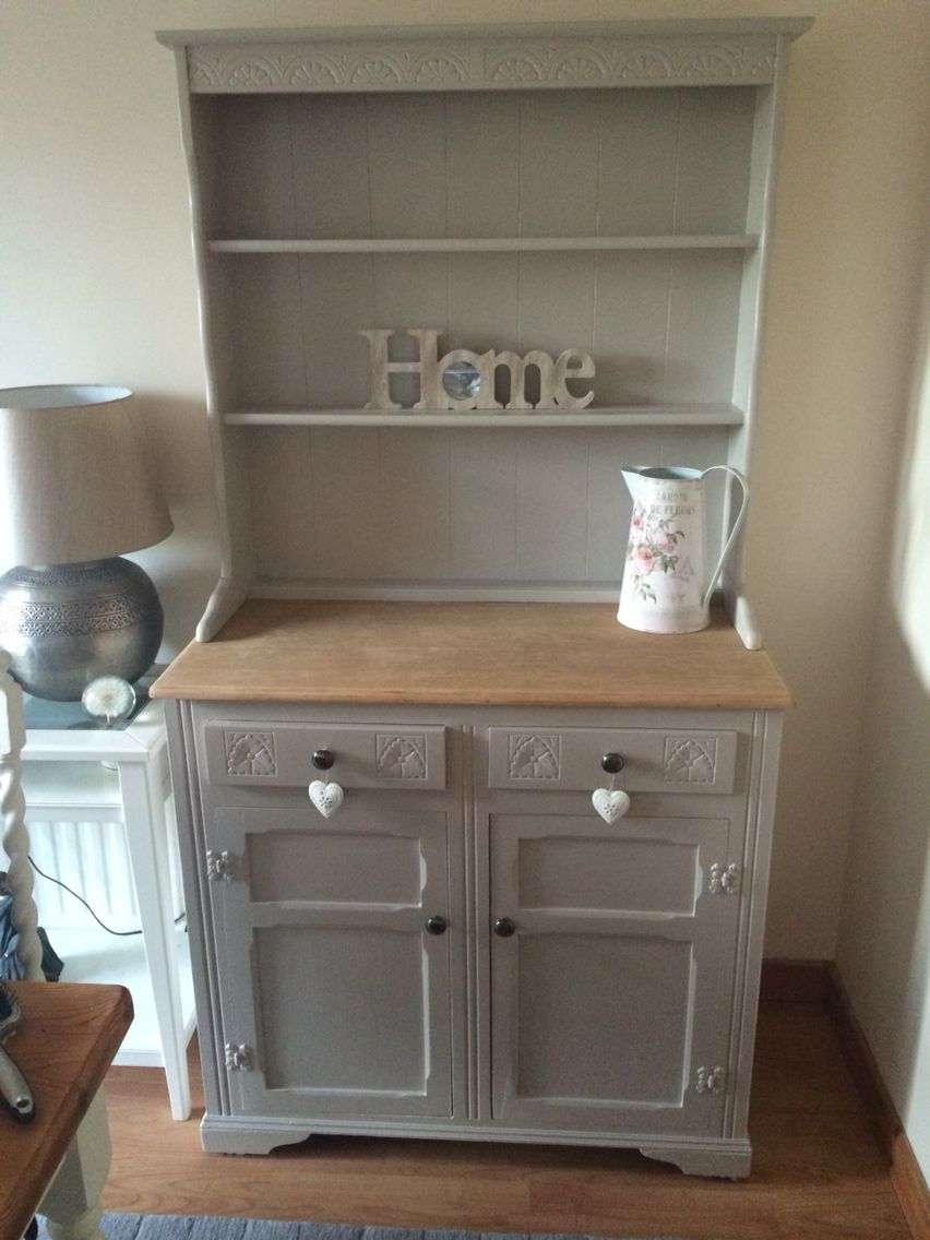 Welsh dresser in farrow and ball elephants