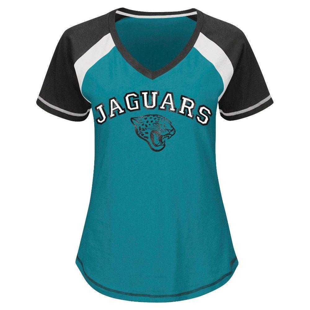 Jacksonville Jaguars Women s 2nd Raglan T-Shirt  5bfb924e9