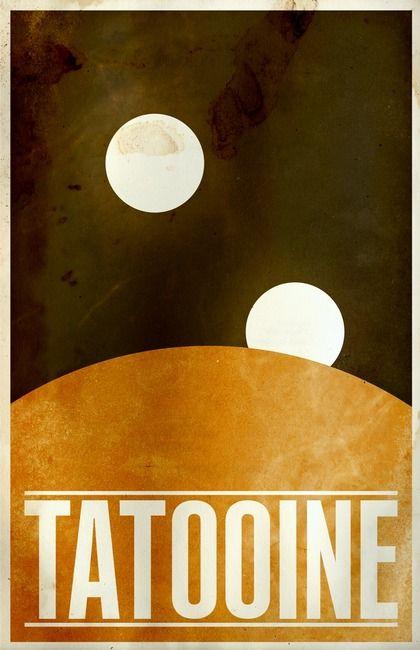 #StarWars #Vintage #Tatooine | by Justin Van Genderen