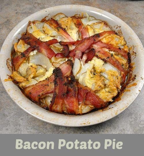 Bacon Wrapped Potato Pie