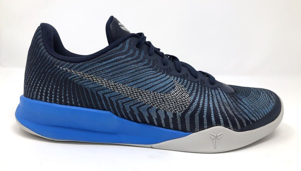 f2e4e56ba824 NIKE Kobe Mentality II Basketball Shoes Size 11 Midnight Navy Blue  818952-400  Nike  BasketballShoes