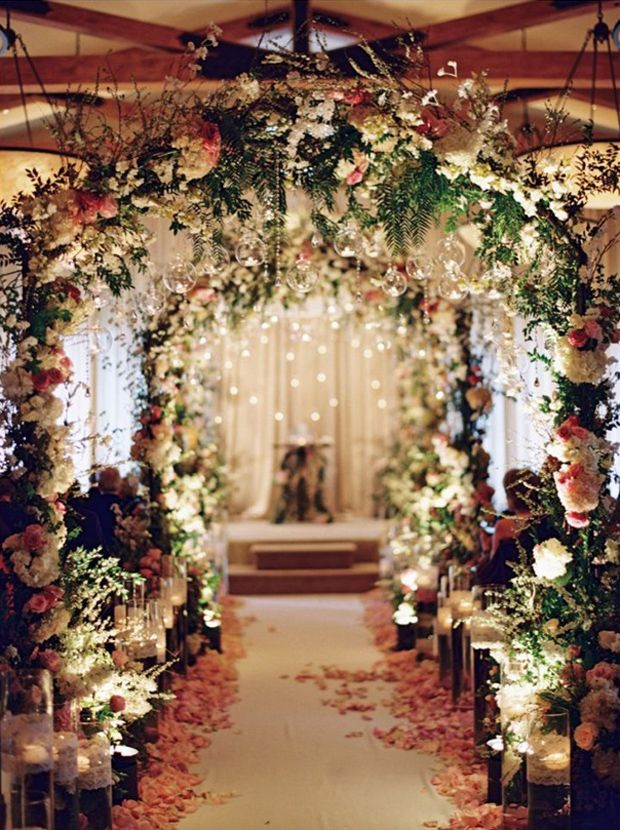 Ceremony Aisle Style | Aisle style, Magical wedding and Weddings