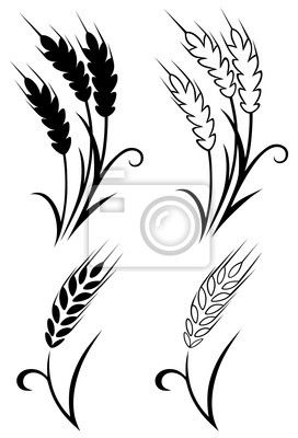 Wheat tattoo