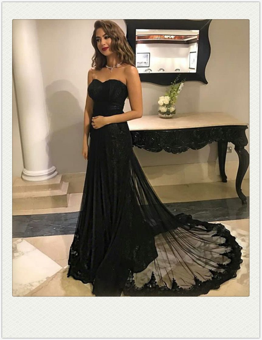 Prom dress longprom dress plus sizeblack prom dress with lace