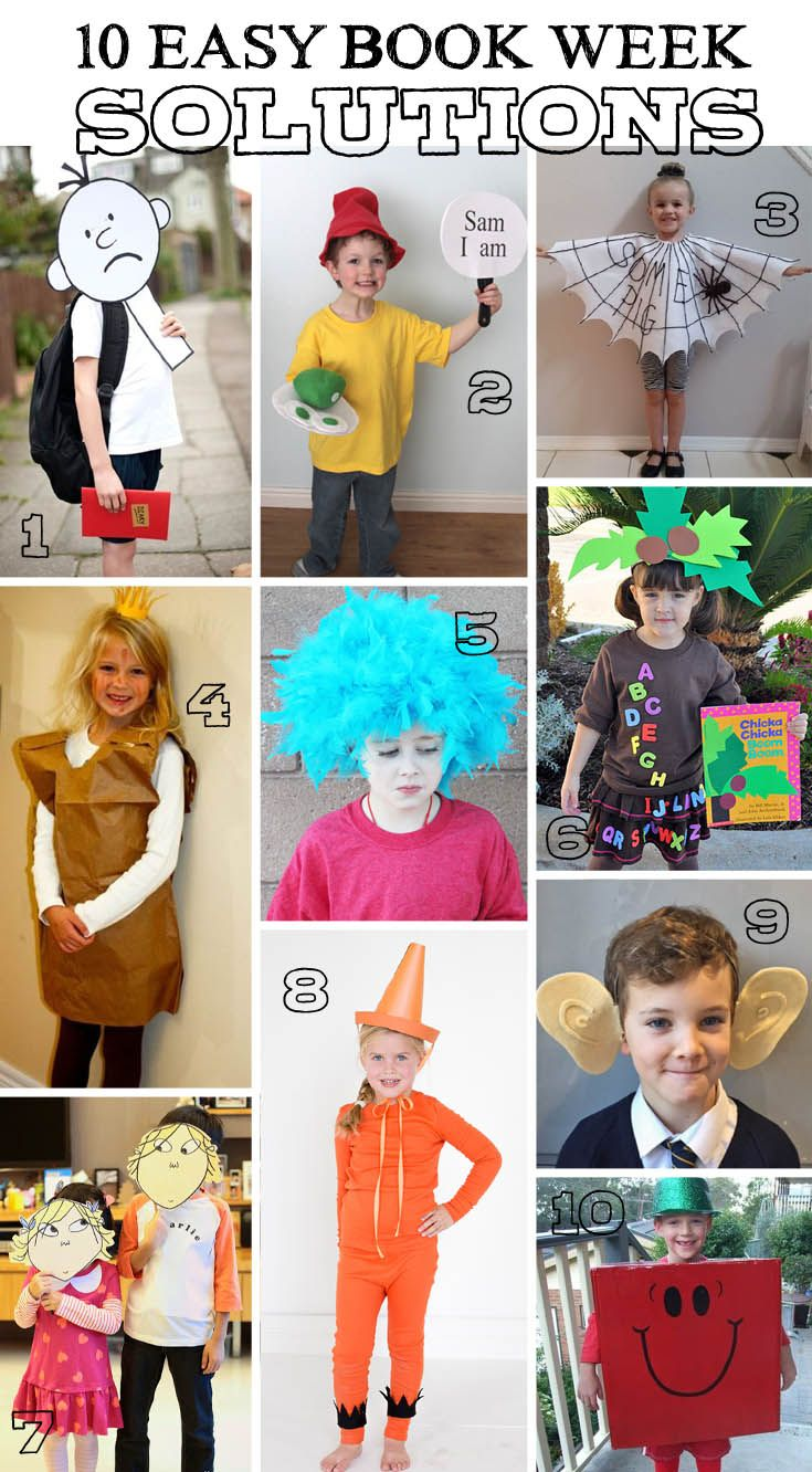 KidStyleFile to the Rescue , 10 Last Minute Book Week