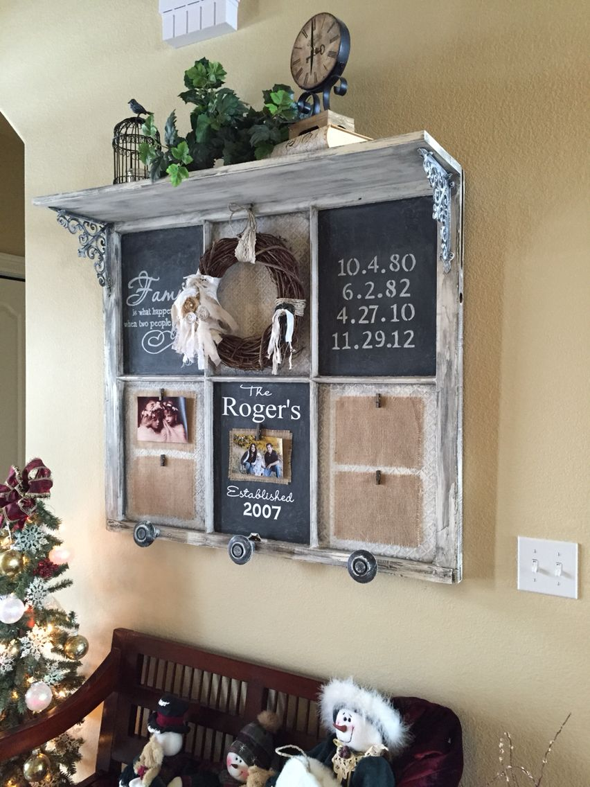 Old Window Frame Projects Bing Old Window Crafts Diy Pinterest Window