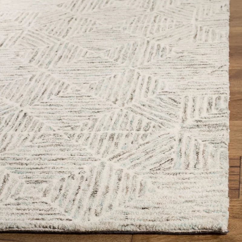 Elim Handmade Tufted Wool Beige Area Rug In 2020 Beige Area Rugs Area Rugs Blue Gray Area Rug