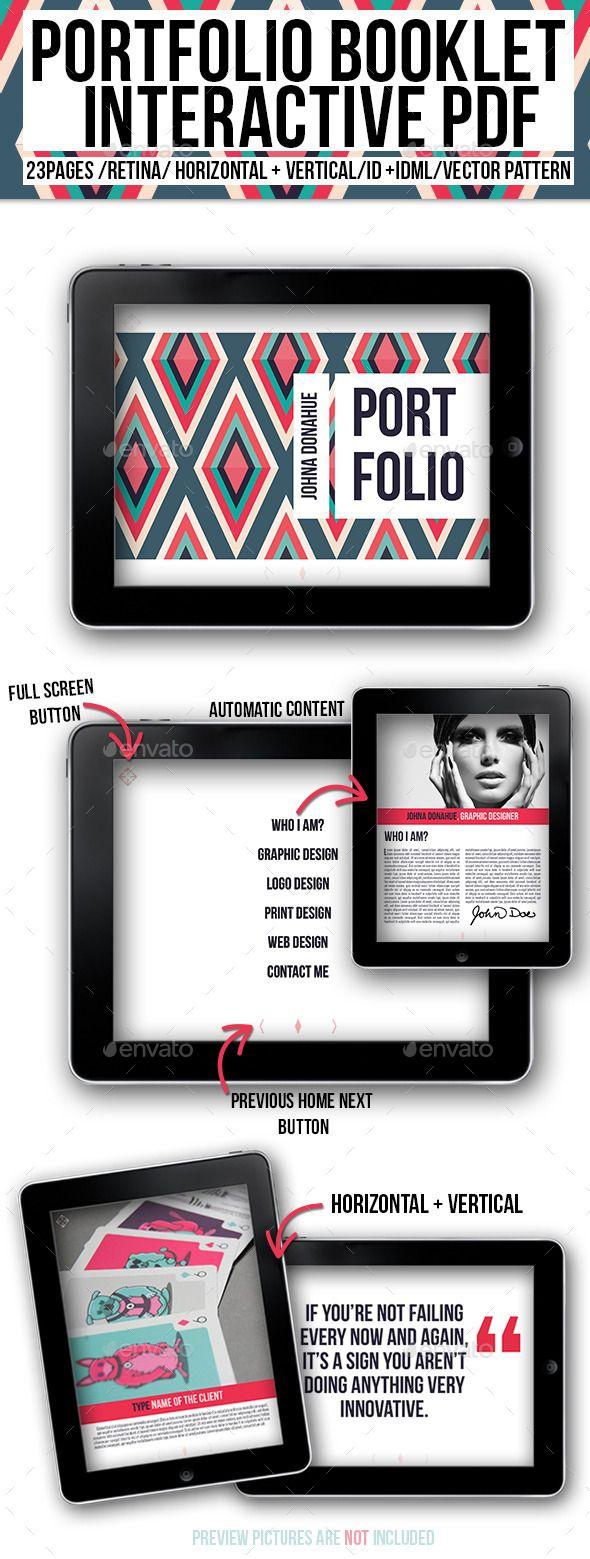 Portfolio booklet interactive pdf portafolio dise o for Diseno editorial pdf