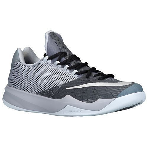 the latest e2587 9d683 NIKE Men s Zoom Run The One Basketball Shoes Gray Silver Size 10  fashion