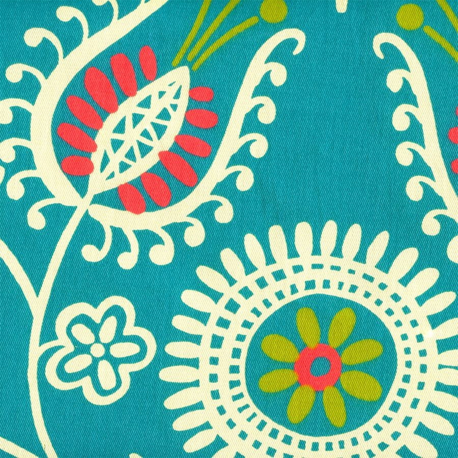 Modern Fabric Prints Shine On Spring Modern Floral Print for