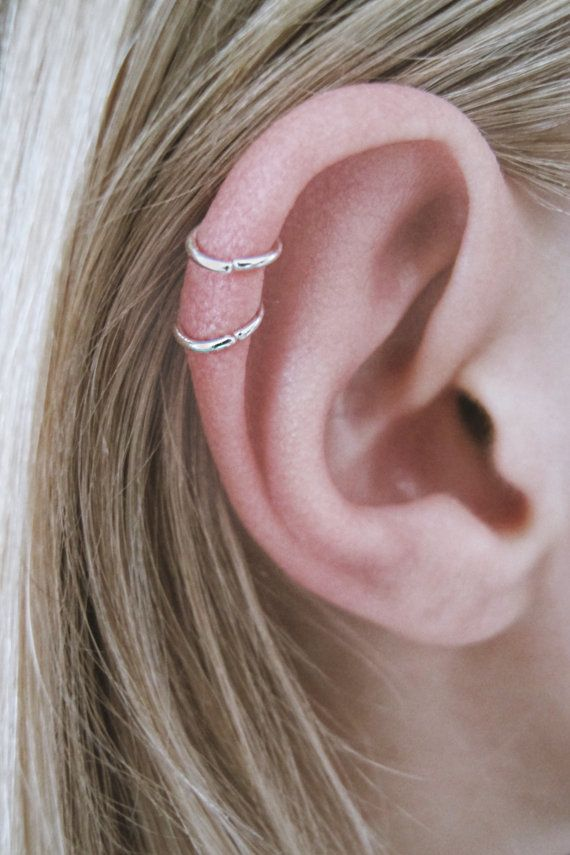 Helix Hoops Very Small Cartilage Sterling Silver