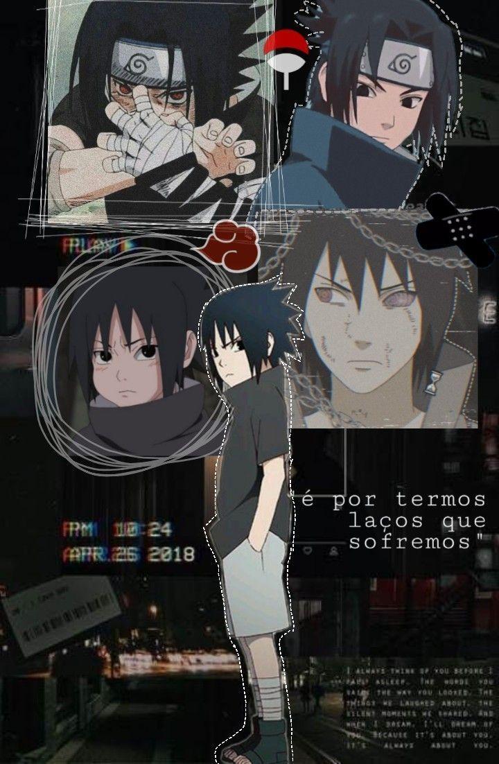 Sasuke Uchiha Aesthetic Wallpaper narutowallpaper em 2020