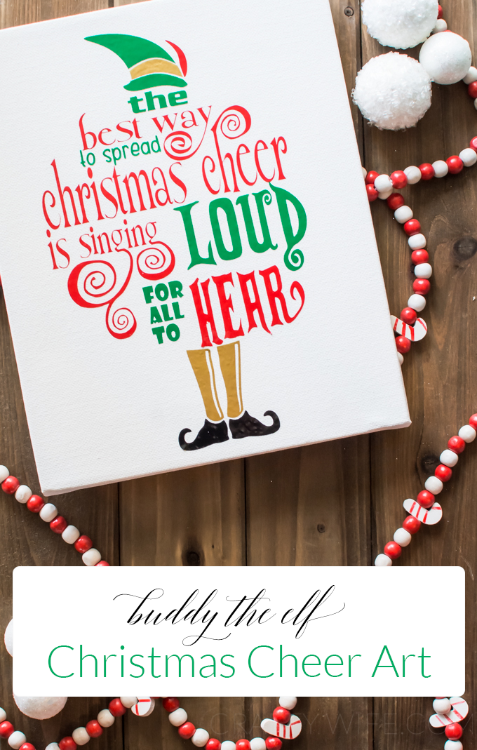 Buddy The Elf Christmas Cheer Art