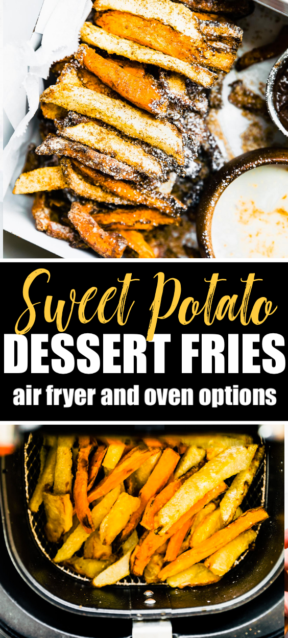 Air Fried Sweet Potato Dessert Fries (Oven Option