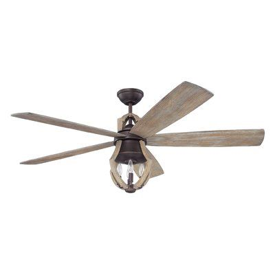 Hales 5 Blade Ceiling Fan With Remote