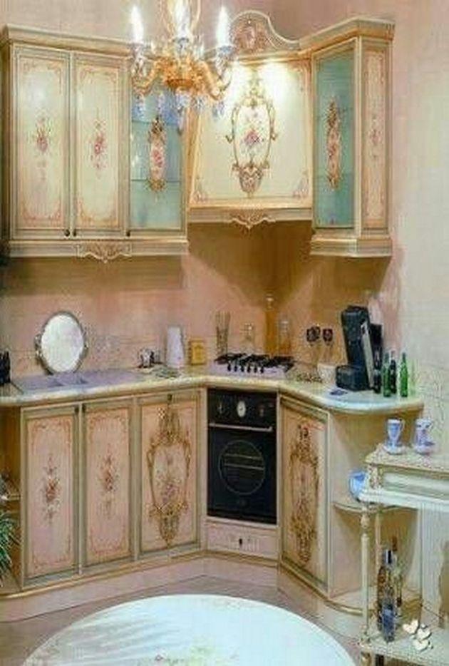 50+ Shabby Chic Kitchen Ideas_47