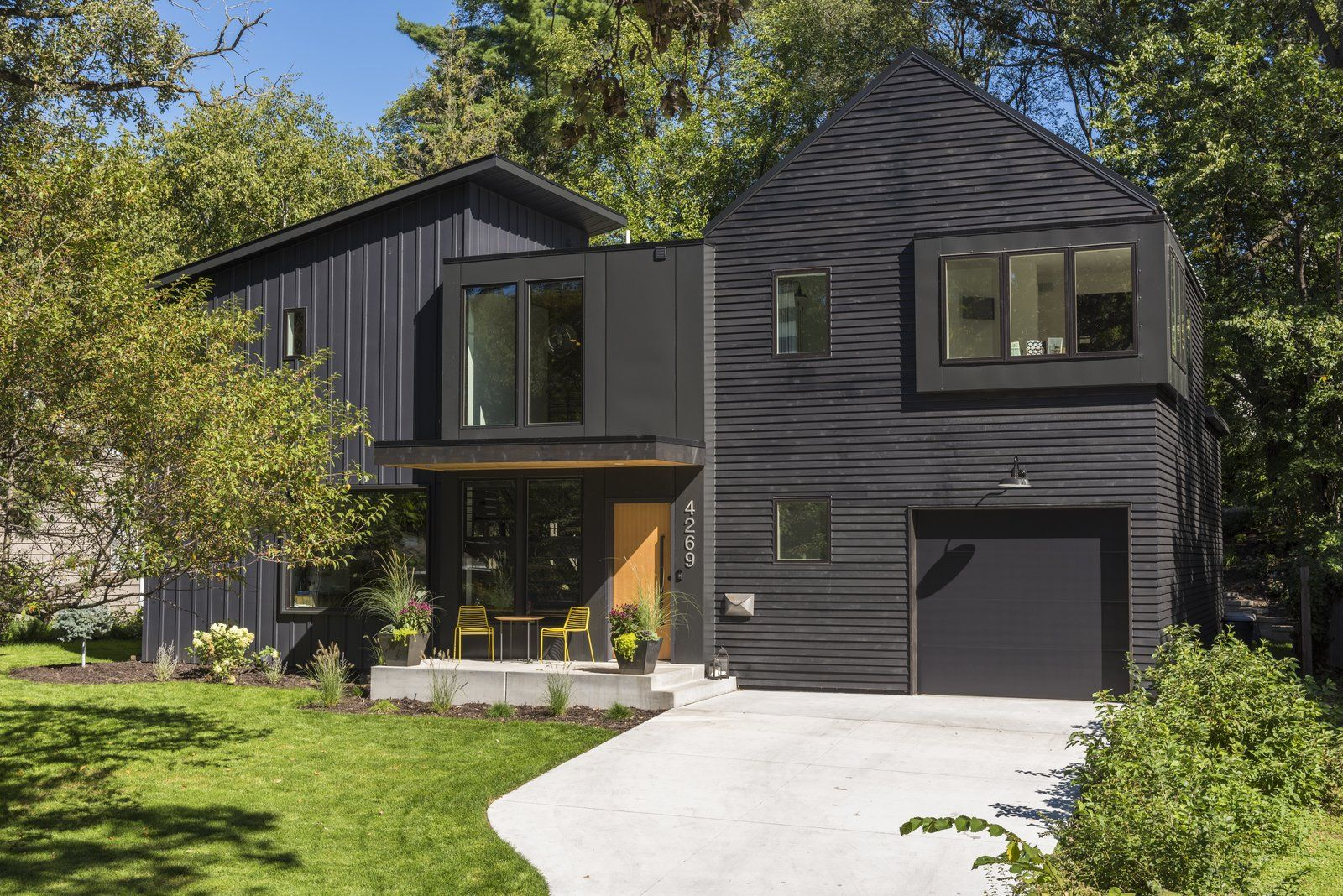 Modern home with Exterior, House, Shingles Roof Material