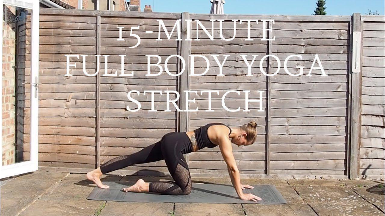 FULL BODY YOGA STRETCH 15 Minute Yoga Flow CAT MEFFAN