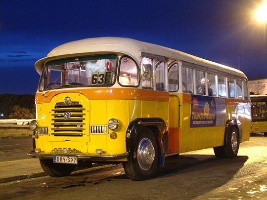 Old bus at Malta's islands #malta #property #sliema #valletta #marsaskala #gozo #birkirkara #mellieha #qormi # mosta #zabbar #rabat #fgura #zejtun #marsa #mdina #malta