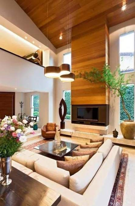 Super House Ranch Interior Living Rooms 61 Ideas | White ...