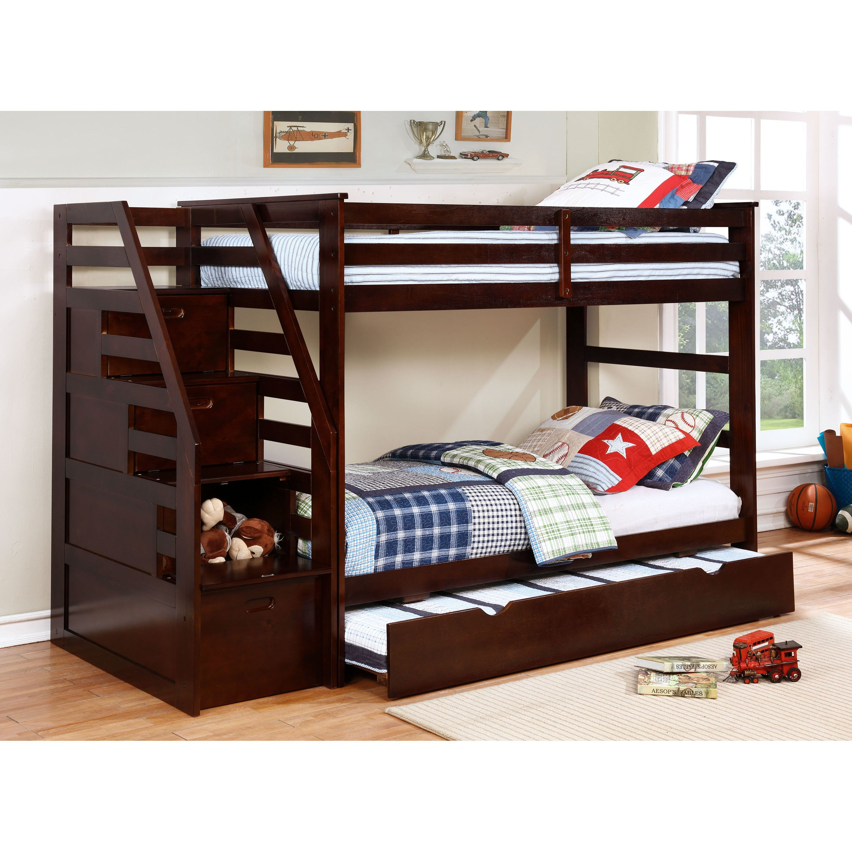 made toddler drawers mattress beds bunk storage with bed custom kids walmart twin