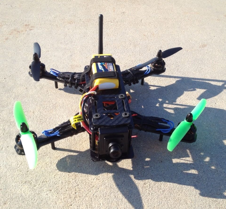 250 Fpv Racing Quad Race Drone Bind N Fly Quadcopter