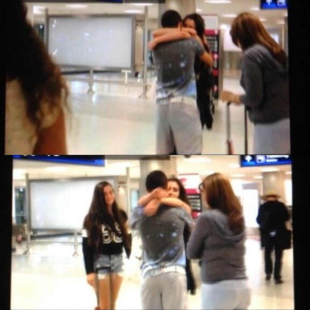 Lauren Jauregui hugging Luis Felipe  0830b877600