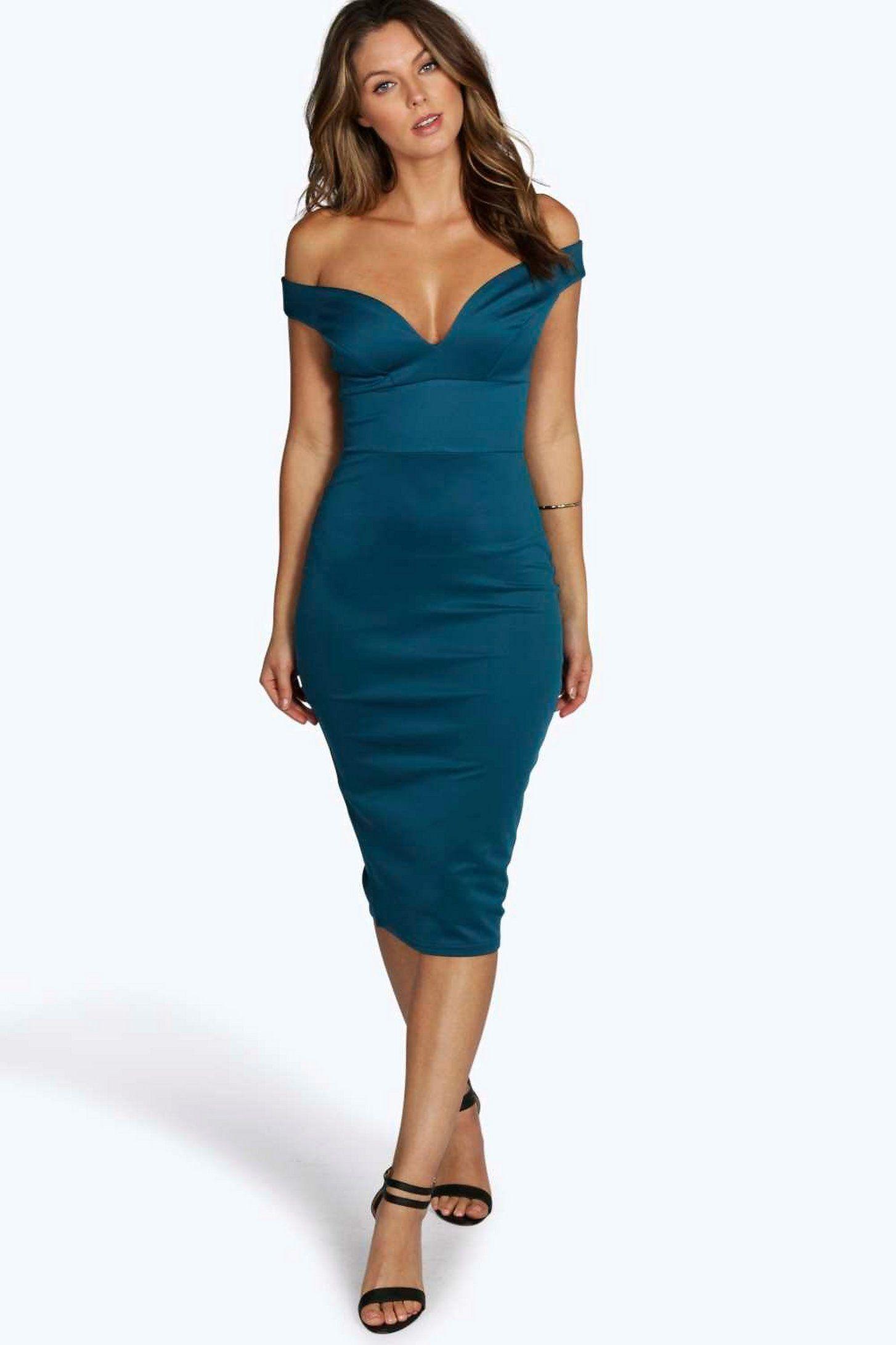 Sweetheart Off Shoulder Bodycon Midi Dress Boohoo Midi Dress Bodycon Bodycon Dress Dresses For Tweens [ 2181 x 1454 Pixel ]