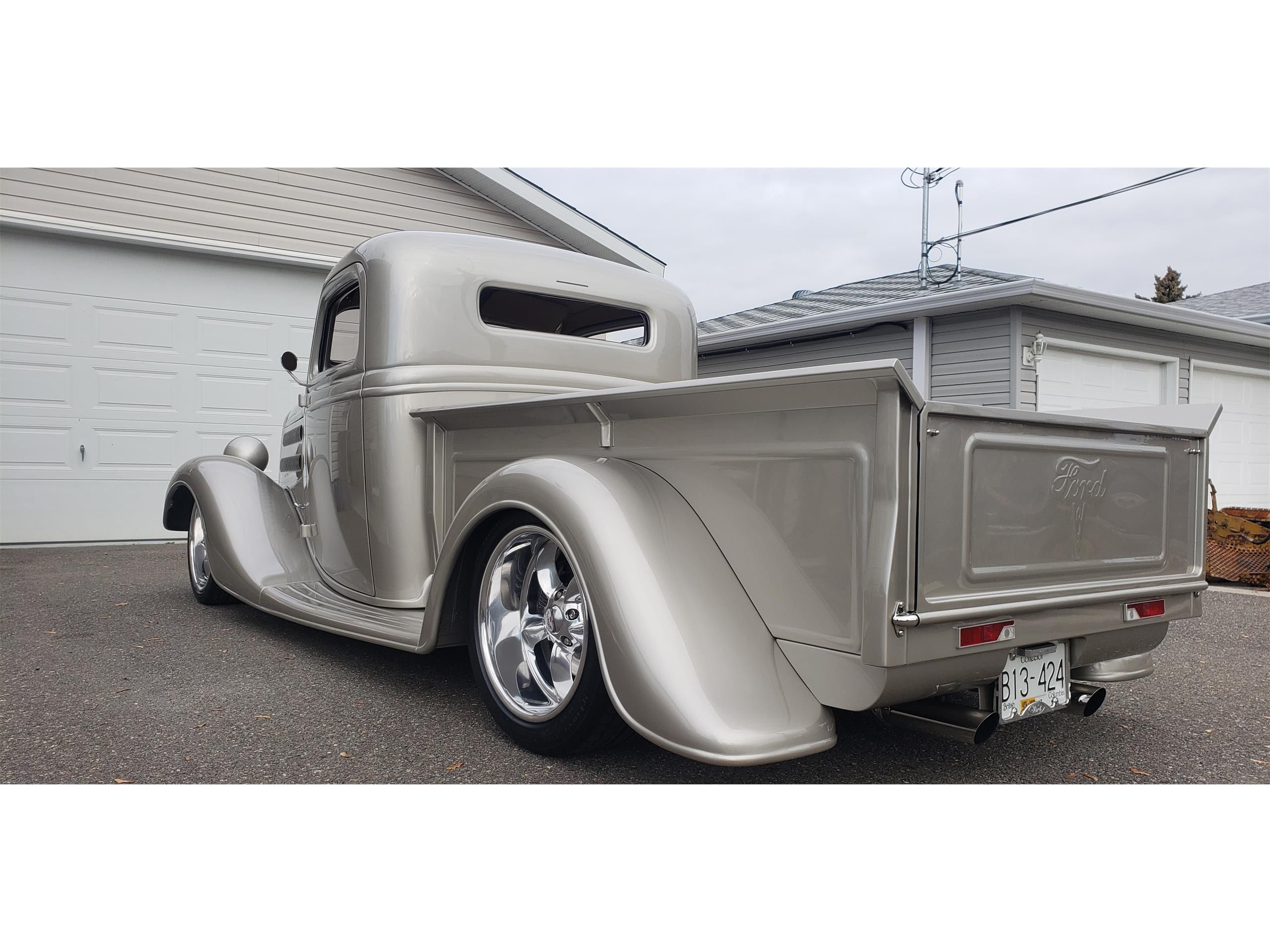 Large Picture Of 1937 Pickup Located In British Columbia Offered By A Private Seller P1hz With Images Ford Pickup Gmc Vans Ford Pickup For Sale