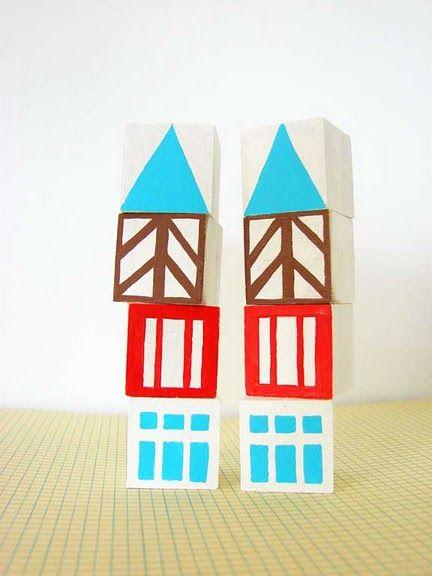love these vintage inspired blocks via @a_outburst