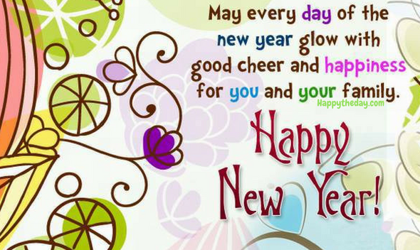 New Year Messages 2018 To Family new year new years quotes happy new ...