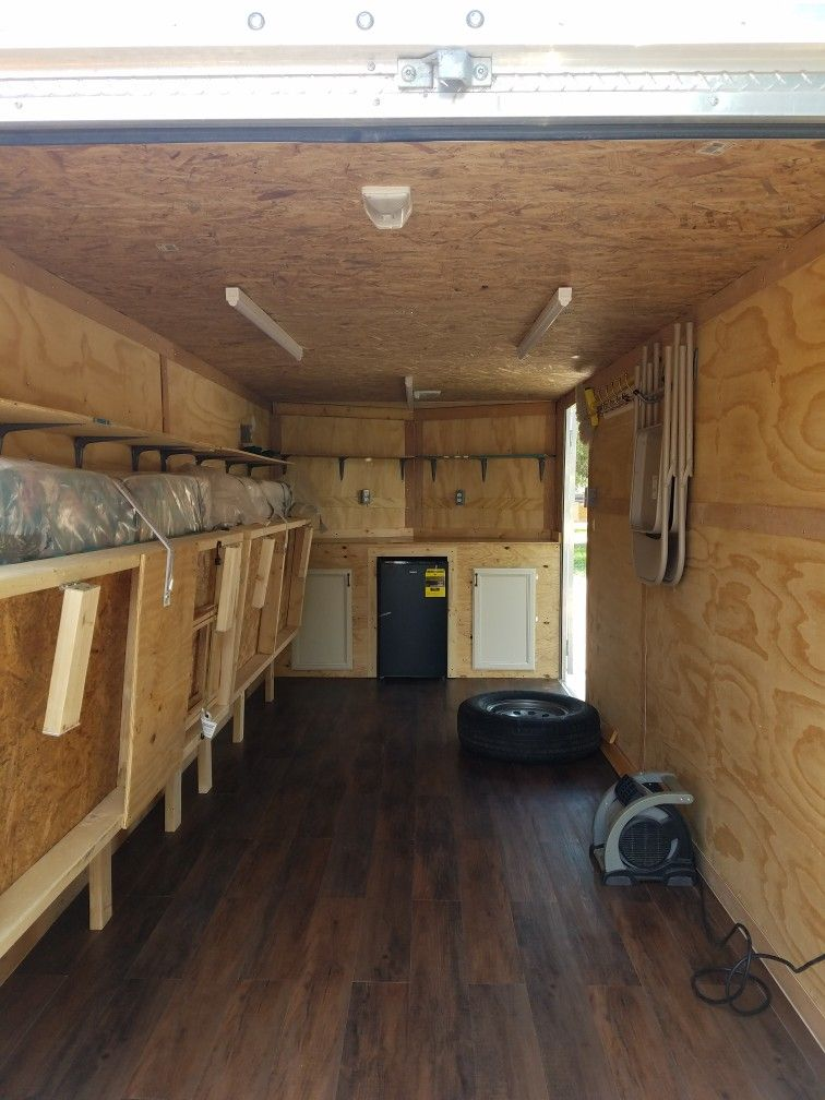 Hunting Camp Cargo Conversion With Toy Storage Cargo