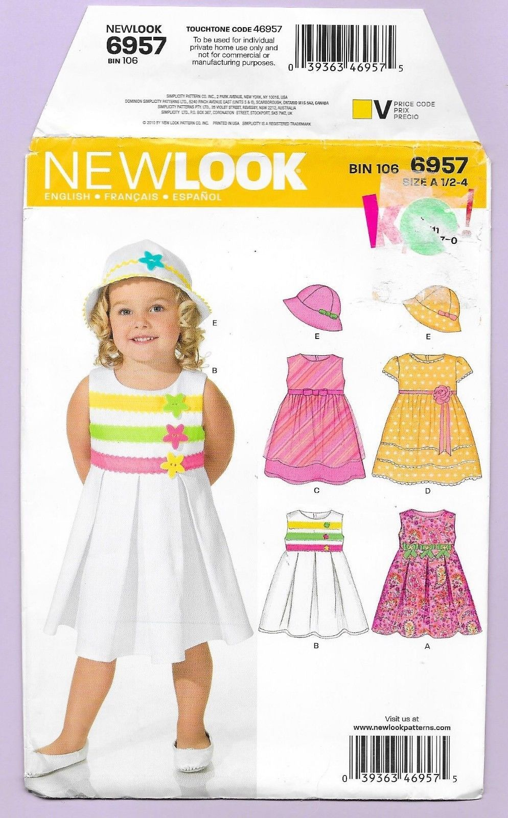 Details about toddler dresses hats pinafore jumper sizes new look