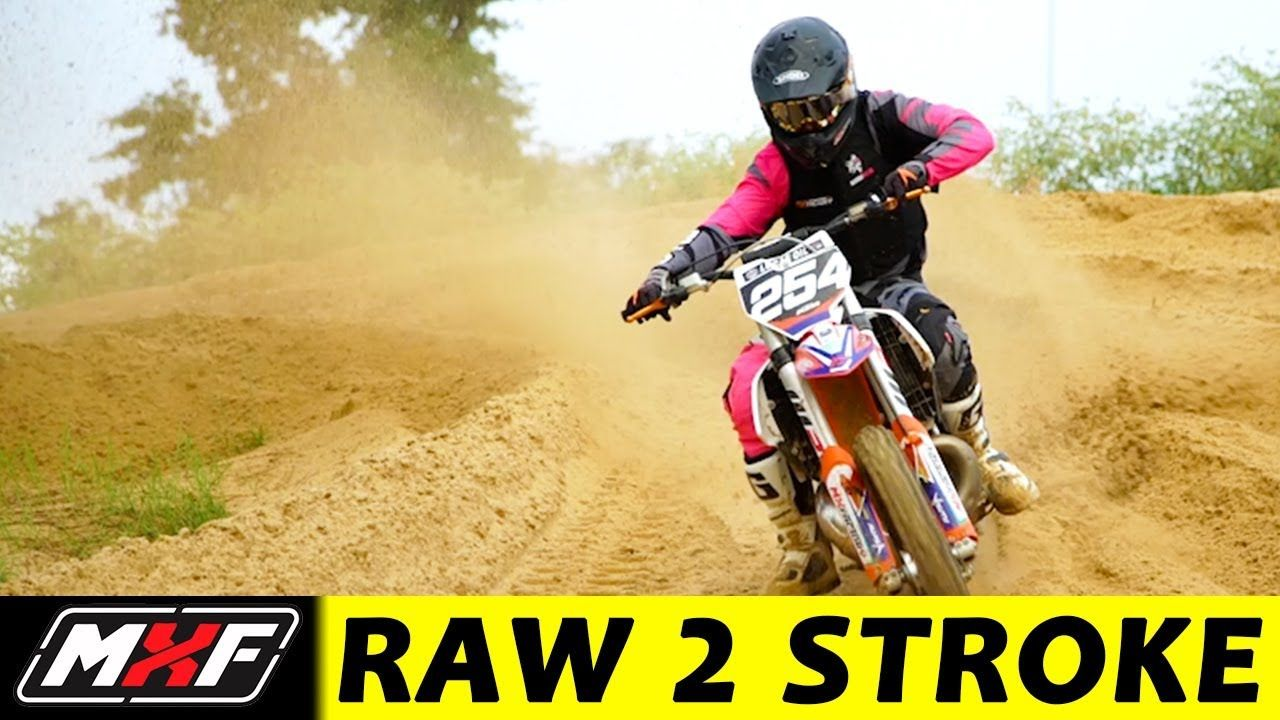 Ripping A 250 2 Stroke Dirt Bike In The Sand The Mx Factory