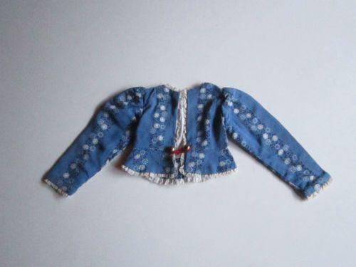 Schoene-alte-Puppenkleidung-Superschoene-Jacke-Trachtenjacke