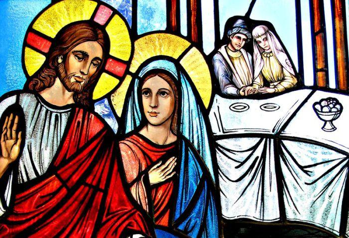 jesus and mary magdalene at wedding at cana catholic church truth behind religion series olan thomas