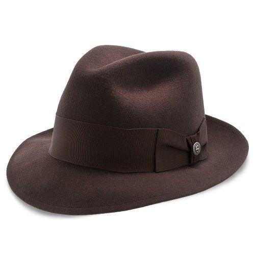 707db1ffb0fcd Stetson Frederick Wool Felt Fedora Hat - TWFRDK   Fashionable Hats