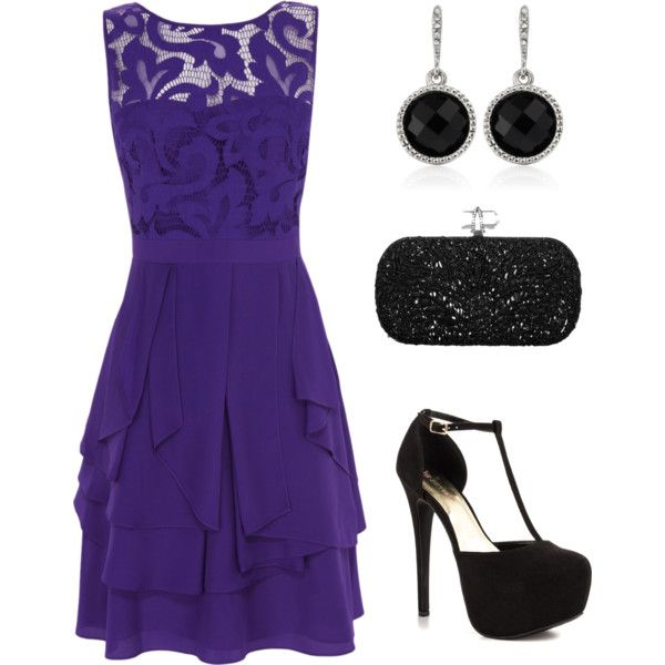 """Purple"" by emmyr1224 on Polyvore"