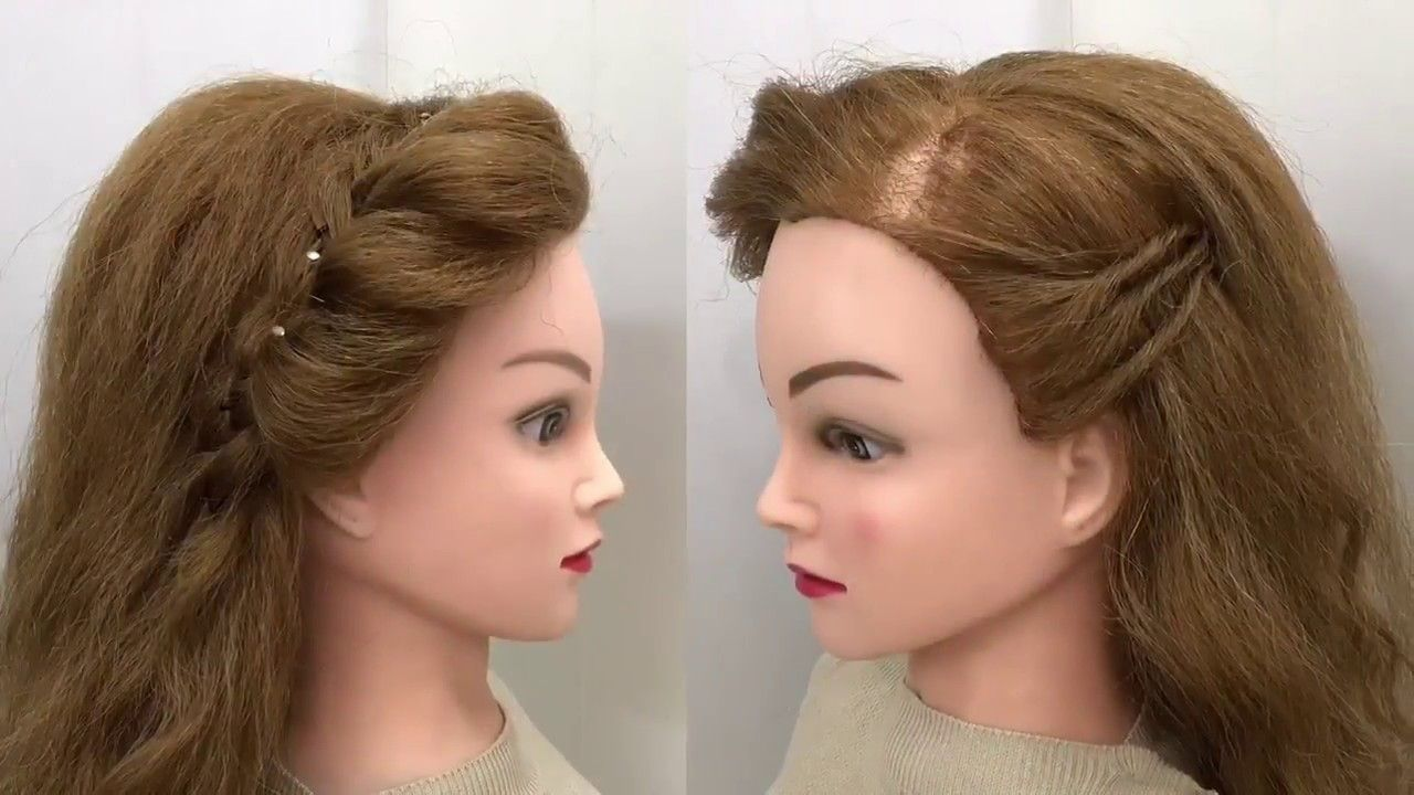 2 Awesome Easy Hairstyles For Wedding Or Function Easy Hairstyles Wedding Hairstyles Simple Wedding Hairstyles