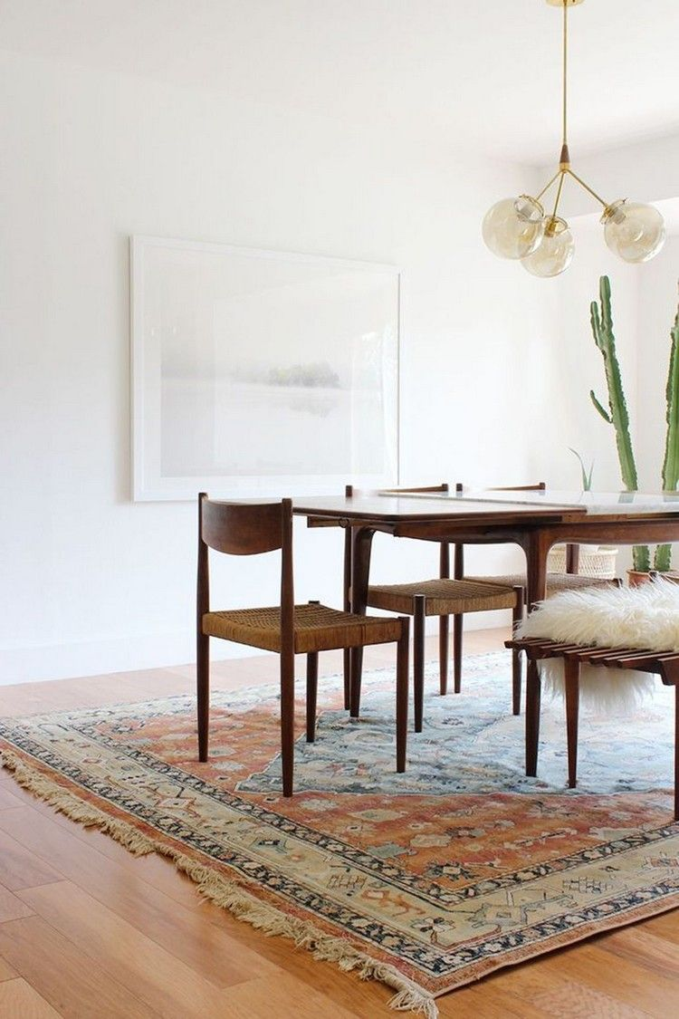 Astounding 35 Gorgeous Mid Century Dining Room Design Ideas Roomido Ncnpc Chair Design For Home Ncnpcorg