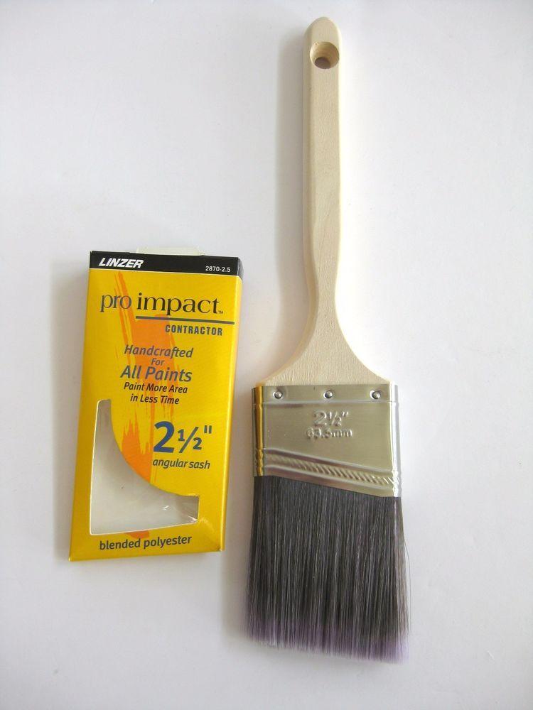 Linzer Paint Brushes 2 Angular Sash Black Chinese Bristle 2655 Oil Base Brush Paint Brushes Painting